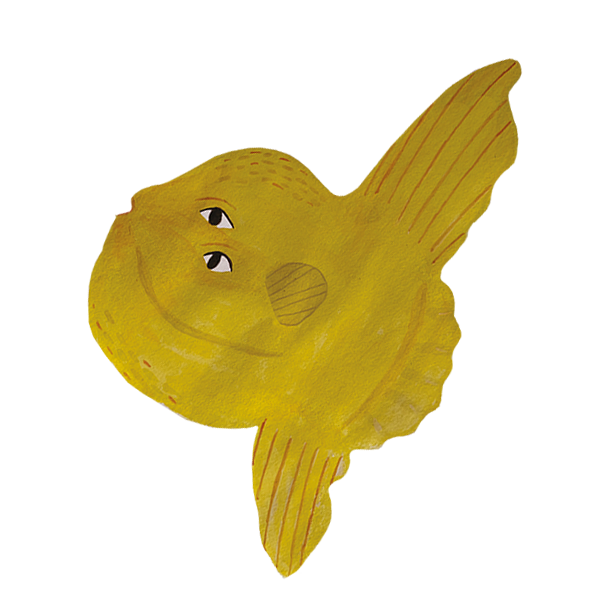 pesce luna CMYK inclinato